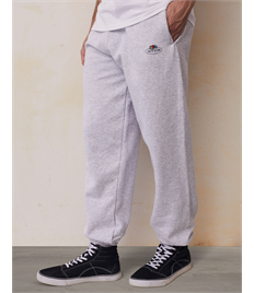 Vintage Elasticated Cuff Jog Pants with Small Logo