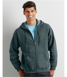 Gildan Heavy Blend  Adult Full Zip Hooded Sweatshirt