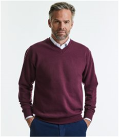 Russell V Neck Sweatshirt