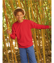 Kid's Valueweight Long Sleeve T-Shirt