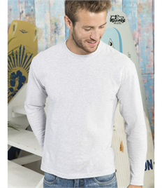 Fruit of the Loom Mens Original Long Sleeve Tee