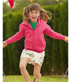 Fruit of the Loom Children's Hooded Sweat Jacket