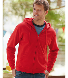 Fruit of the Loom Mens Classic Hooded Sweat Jacket