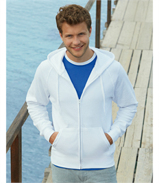 Fruit of the Loom Men's Lightweight Hooded Sweat Jkt
