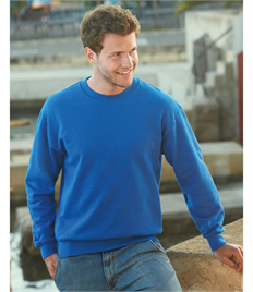 Fruit of the Loom Mens Premium Set In Sweat
