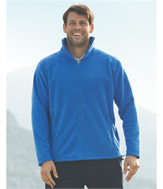 Fruit of the Loom Full Zip Outdoor Fleece