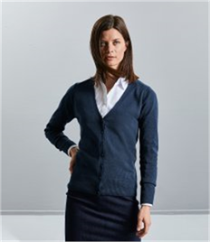 Russell Collection Ladies V Cardigan
