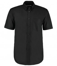 Kustom Kit Short Sleeve Classic Fit Workwear Oxford Shirt