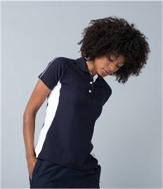 Finden and Hales Ladies Sports Cotton Piqué Polo Shirt
