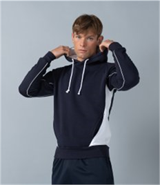 Finden & Hales Contrast Hooded Sweatshirt