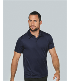 KARIBAN MENS PERFORMANCE POLO