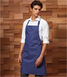 Premier 'Colours' Bib Apron with Pocket