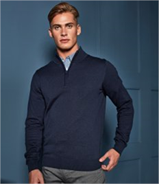 Premier Zip Neck Sweater