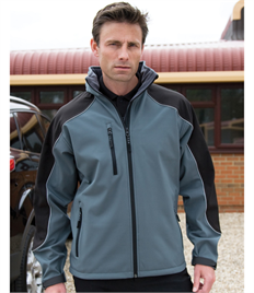 Result Ice Fell Hooded Soft Shell Jacket
