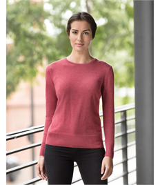 Russell Collection Ladies' Crew Neck Knitted Pullover