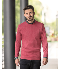 Russell Collection Knitted Crew Neck