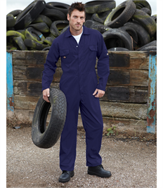 Redhawk Economy Stud Front Coverall Tall