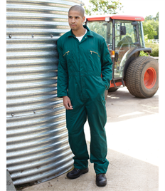 Redhawk Zip Front Coverall Regular