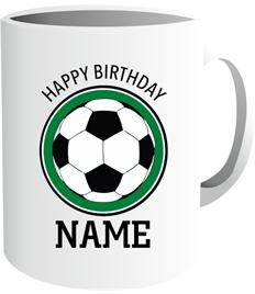 Happy Birthday Mug (Football)