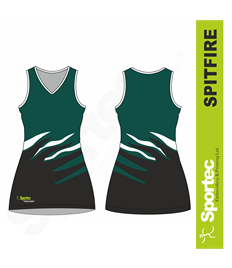 Sublimation Netball Dress (Spitfire)