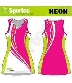 Sublimation Netball Dress (Neon)