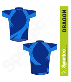 Sublimation Cycling Jersey (Dragon)