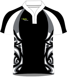 Sublimation Rugby Jersey (Moari)