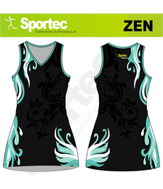 Sublimation Netball Dress (Zen)