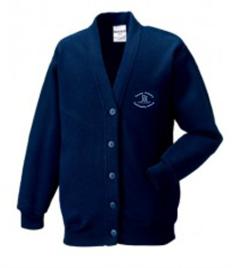 Tonnau Primary School Cardigan (Adult Sizes)