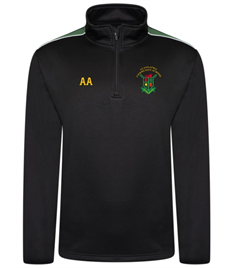 Llangatwg School - Zipped P.E TOP (Adult Sizes)