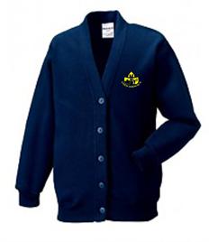 Coed Hirwaun Primary School Cardigan (Adult Sizes)