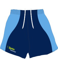 Sublimation Rugby Shorts (Flow)