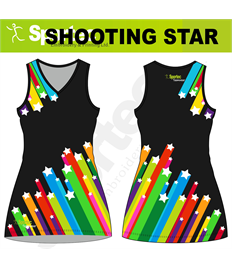 Sublimation Netball Dress (Shooting Star)