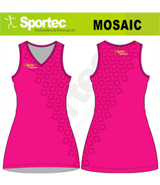 Sublimation Netball Dress (Mosaic)