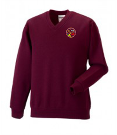 Blaengwrach V-Neck Sweatshirt (Age 3-4 to 11-12)