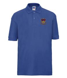 Ysgol Maesydderwen Polo Shirt (Age 9-10 to Age 13)