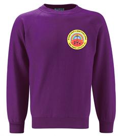 Bryncoch Church in Wales Primary School Sweatshirt (Adult Sizes)