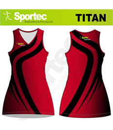 Sublimation Netball Dress (Titan)