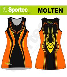 Sublimation Netball Dress (Molten)