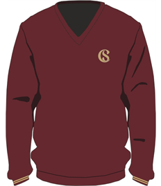 Cefn Saeson V-neck Pullover (Sizes Age 9-10 - Adult Medium)