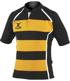 10 x Gilbert Xact II Hoop Rugby Jerseys (MENS)