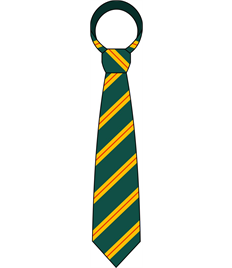 St Joseph's Comprehensive School Clip on Tie