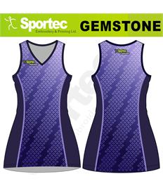Sublimation Netball Dress (Gemstone)