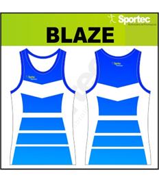 Sublimation Athletic Vest - BLAZE