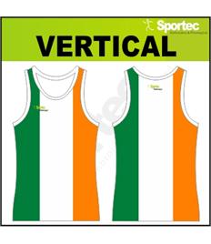 Sublimation Athletic Vest - VERTICAL
