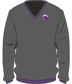Ysgol Bae Baglan V-Neck Pullover (Adult Large to XXL)