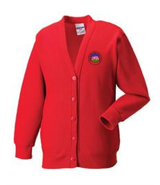 Abbey Primary School Cardigan (Adult Sizes)