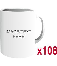 Set of 108 - Personalised Gift Mug