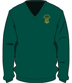 Llangtwg V-Neck Sweatshirt (XS Adult to XL Adult)