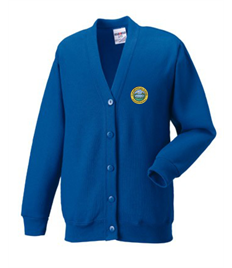 Crynallt Primary School Cardigan (Adult Sizes)